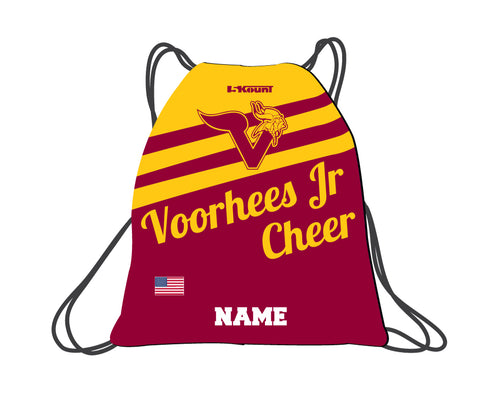 Voorhees Jr Cheer Sublimated Drawstring Bag - 5KounT2018