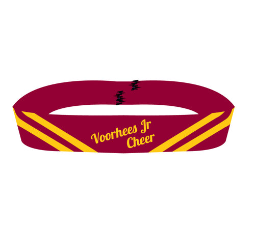 Voorhees Jr Cheer Girls Headband - 5KounT2018