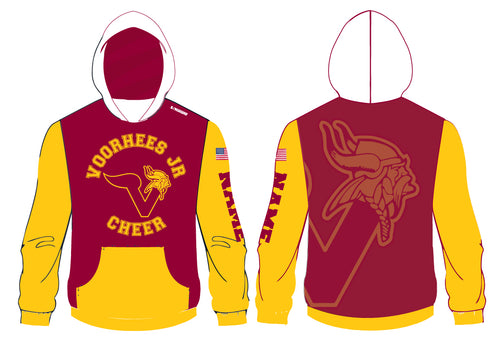 Voorhees Jr Cheer Sublimated Hoodie - 5KounT2018