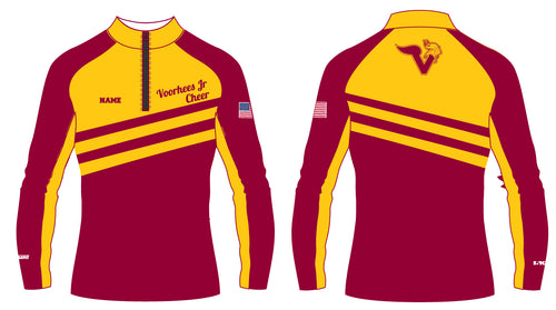Voorhees Jr Cheer Sublimated Quarter Zip - 5KounT2018