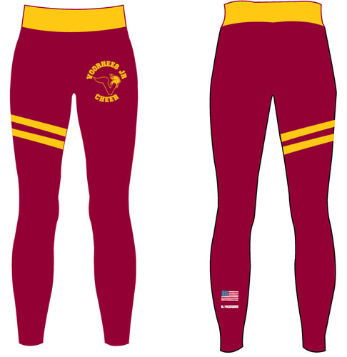 Voorhees Jr Cheer Sublimated Women's Legging - 5KounT2018
