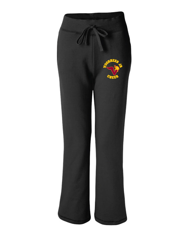 Voorhees Jr Cheer Ladies' Sweatpants Pants - Black - 5KounT2018