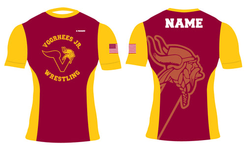 Voorhees Jr Wrestling Sublimated Compression Shirt