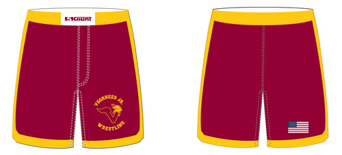 Voorhees Jr Wrestling Sublimated Fight Shorts