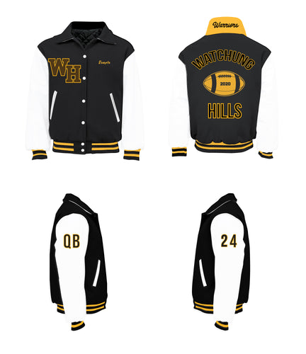 Watchung Hills Warriors Varsity Jacket