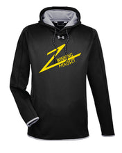 Winning Mindset Under Armour Ladies' Double Threat Armour Fleece Hoodie - Black