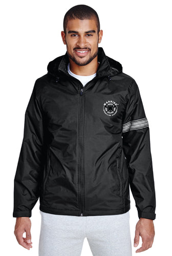 WWA All Season Hooded Jacket - Black