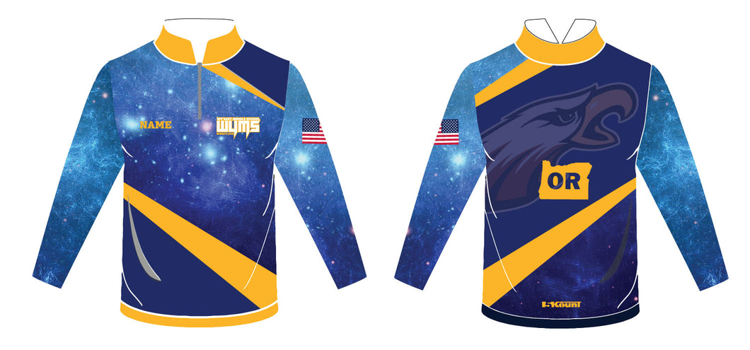 Wy'East MS Sublimated Quarter Zip