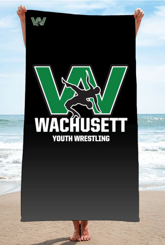 Wachusett Youth Wrestling Sublimated Beach Towel - 5KounT2018