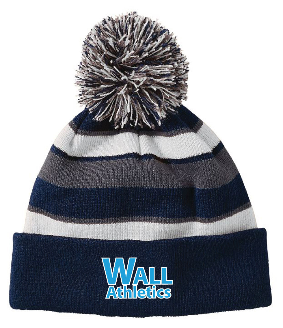 Wall Athletics Pom Beanie