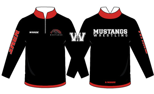 Warde Mustangs Sublimated Quarter Zip