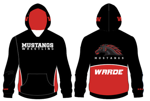 Warde Mustangs Sublimated Hoodie