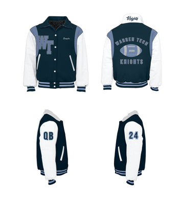 Warren Tech Knights Varsity Jacket