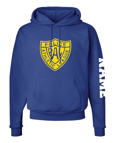 Warwick Pal Wrestling Cotton Hoodie - Royal