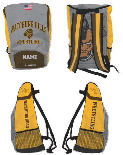 Watchung Hills Wrestling Sublimated Backpack - 5KounT2018