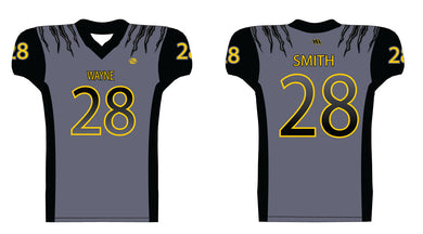 Wayne Panthers Football Sublimated Football Jersey