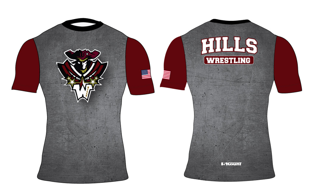 Wayne Hills Sublimated Compression Shirt - 5KounT2018
