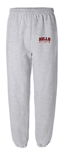 Wayne Hills Cotton Sweatpants - Grey - 5KounT