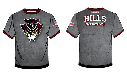 Wayne Hills Sublimated Fight Shirt - 5KounT