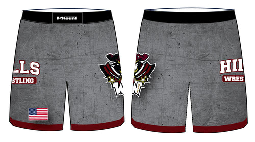 Wayne Hills Sublimated Fight Shorts - 5KounT