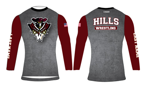 Wayne Hills LS Sublimated Compression Shirt
