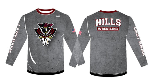 Wayne Hills Sublimated Long Sleeve - 5KounT
