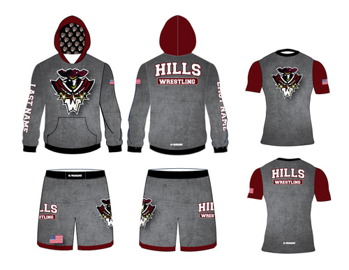 Wayne Hills Wrestling Uniform Package 1 - 5KounT
