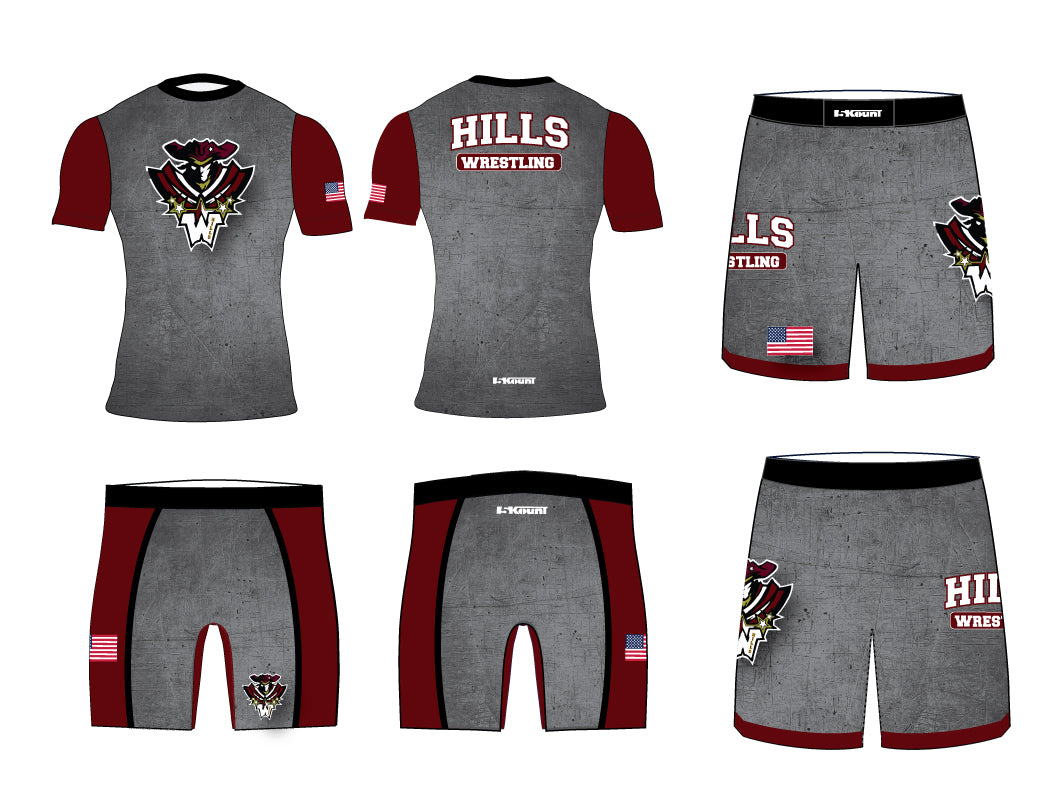 Wayne Hills Wrestling Uniform Package 2 - 5KounT