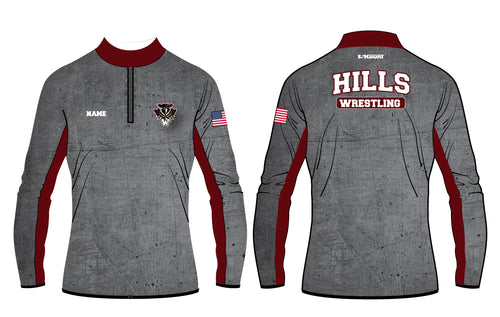 Wayne Hills Sublimated Quarter Zip