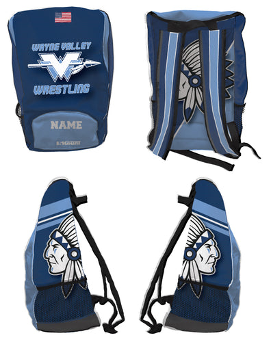 Wayne Valley Wrestling Sublimated Backpack - 5KounT2018