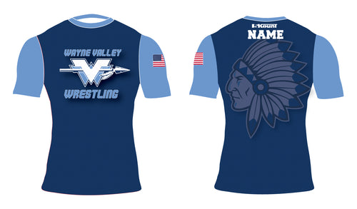 Wayne Valley Wrestling Sublimated Compression Shirt