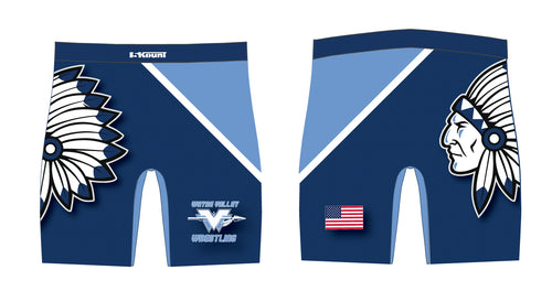 Wayne Valley Wrestling Sublimated Compression Shorts