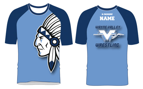 Wayne Valley Wrestling Sublimated Fight Shirt