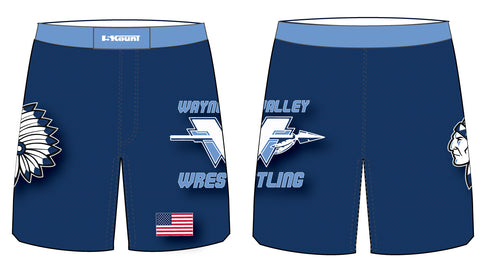 Wayne Valley Wrestling Sublimated Fight Shorts