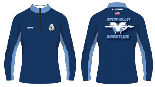 Wayne Valley Wrestling Sublimated Quarter Zip