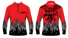 RedHawk Wrestling Club Sublimated Quarter Zip - 5KounT2018
