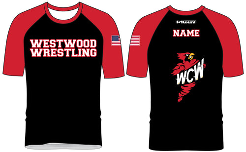 WCW Sublimated Fight Shirt