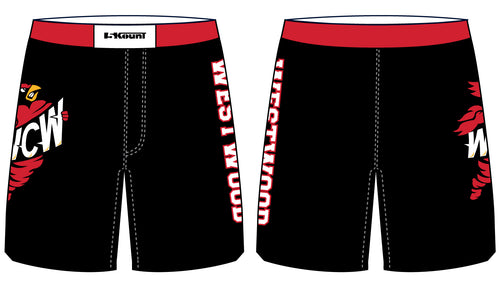 WCW Sublimated Fight Shorts