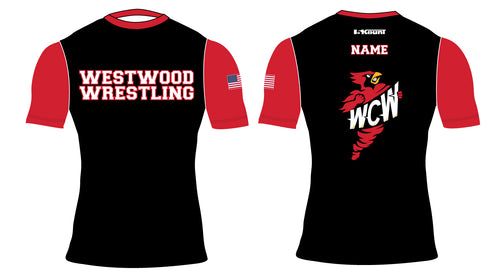 WCW Sublimated Compression Shirt