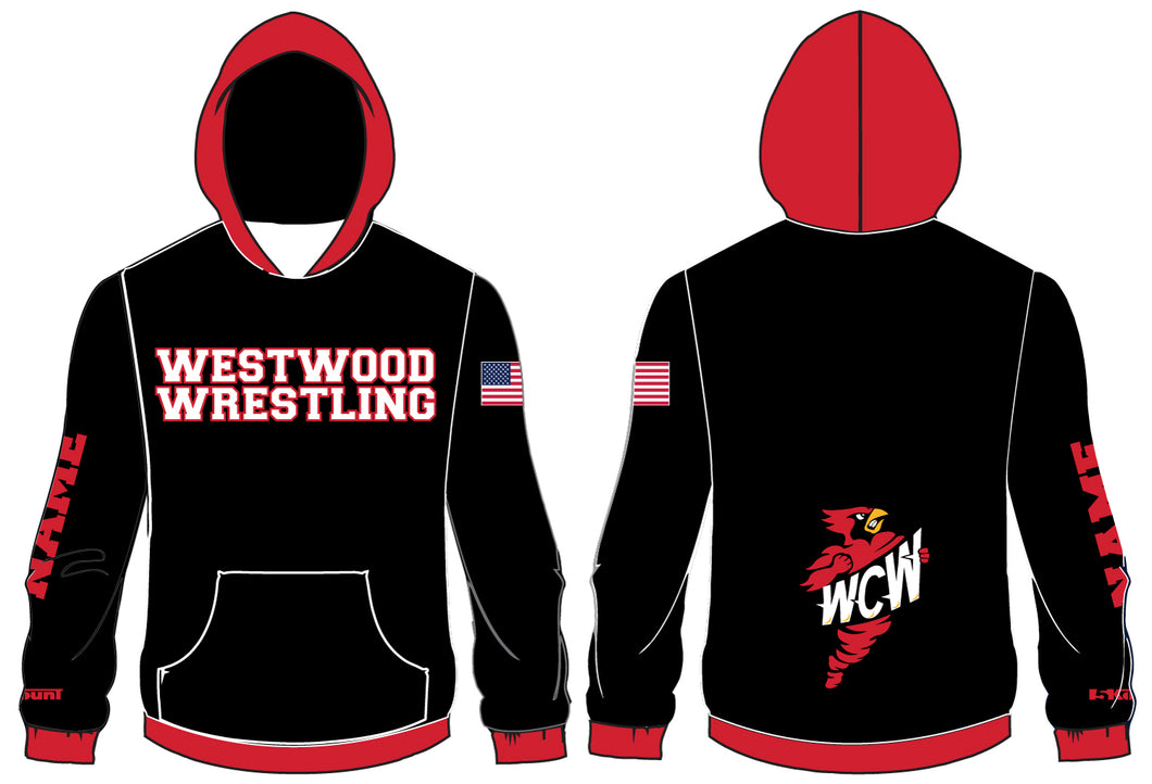 WCW Sublimated Hoodie