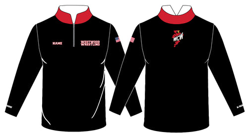 WCW Sublimated Quarter Zip