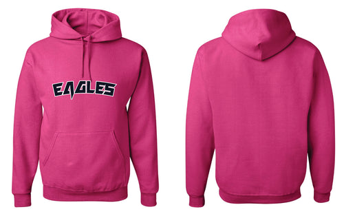 Wethersfield Football Breast Cancer Cotton Hoodie