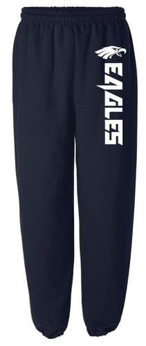 Wethersfield Football Cotton Sweatpants - Navy