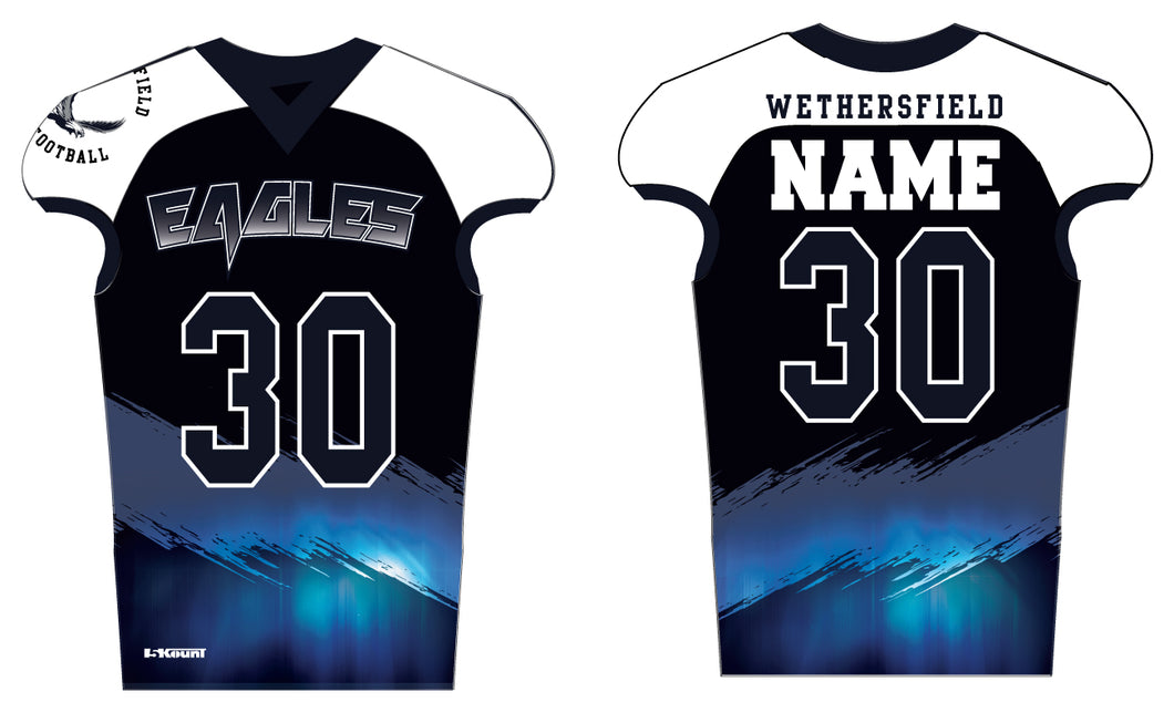 Wethersfield Football Sublimated Football Jersey