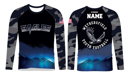 Wethersfield Football Sublimated Long Sleeve
