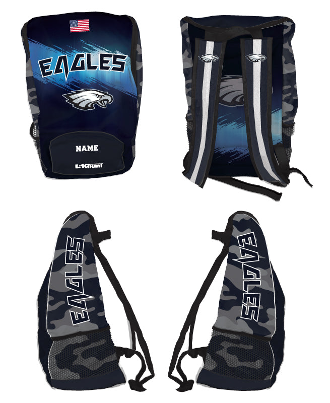 Wethersfield Football Sublimated Backpack