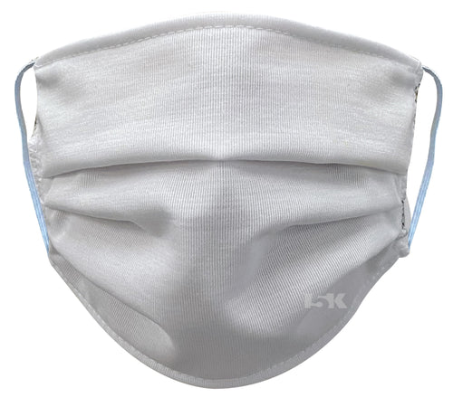 Solid White Reusable Face Mask