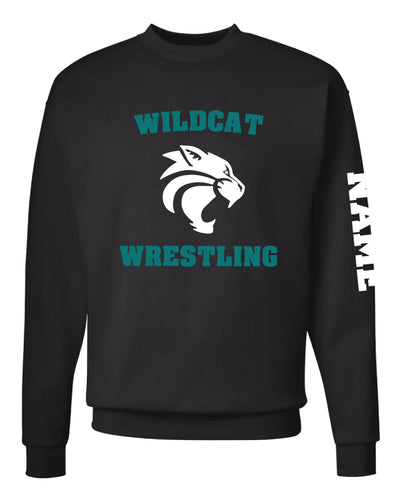 Royal Palm Beach Wildcat Crewneck Sweatshirt - Black