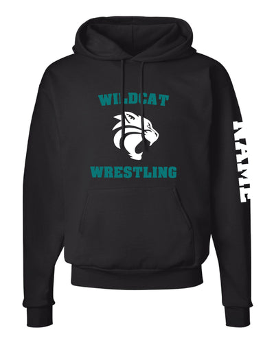 Royal Palm Beach Wildcat Cotton Hoodie - Black