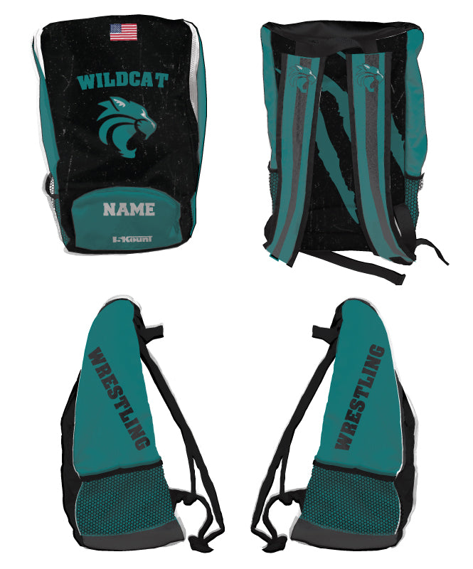 Royal Palm Beach Wildcat Sublimated Backpack - 5KounT